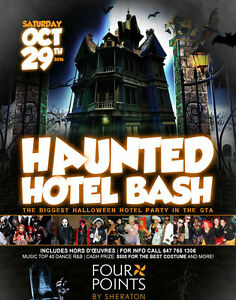 BRANTFORD INVITE TO THE HAUNTED HOTEL BASH