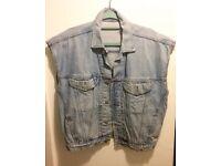 Vintage Guess Denim Jacket Sleeveless