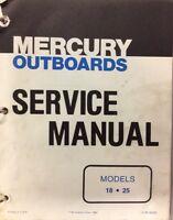 MERC 18 / 25 HP SHOP MANUAL