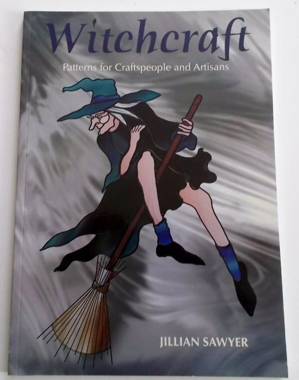 Witchcraft Stained Glass Pattern Book by Jillian Sawyer ~ Awesome Patterns!