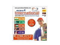 From £1.50/kg INDIA PARCEL SERVICE / SEND DOCUMENTS /COURIER 2 INDIA PAKISTAN etc