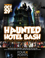 WOODSTOCK INVITE TO THE HAUNTED HOTEL BASH