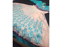 Asian Indian Pakistani churidar outfit for wedding walima mehndi size L