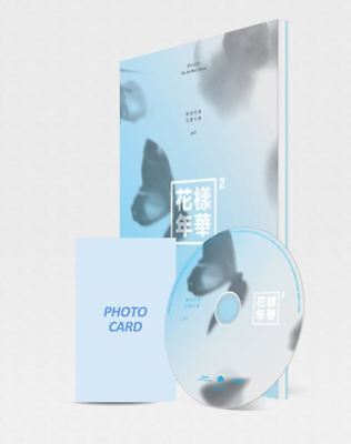 BTS HYYH - In The Mood For Love PT2 -Blue ver. 4th Mini Album Booklet+PhotoCard