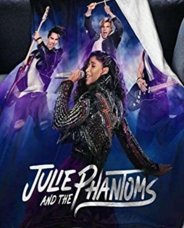 "Julie and Phantom Flannel Blanket, 50"" x40"""