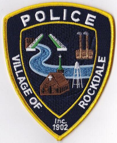 Village of Rockdale Police Patch Illinois IL