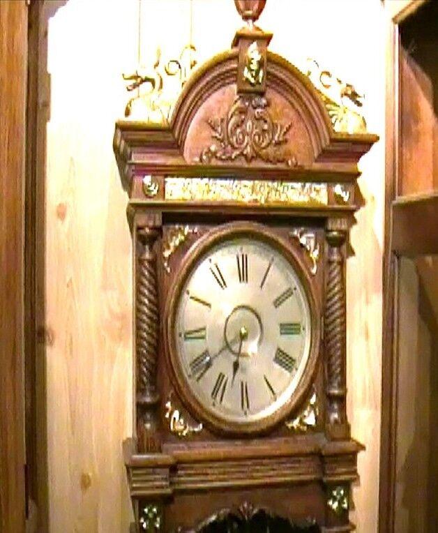 Clock Repair DVD Video - Waterbury Augusta Wall Clock #21 Repair Video