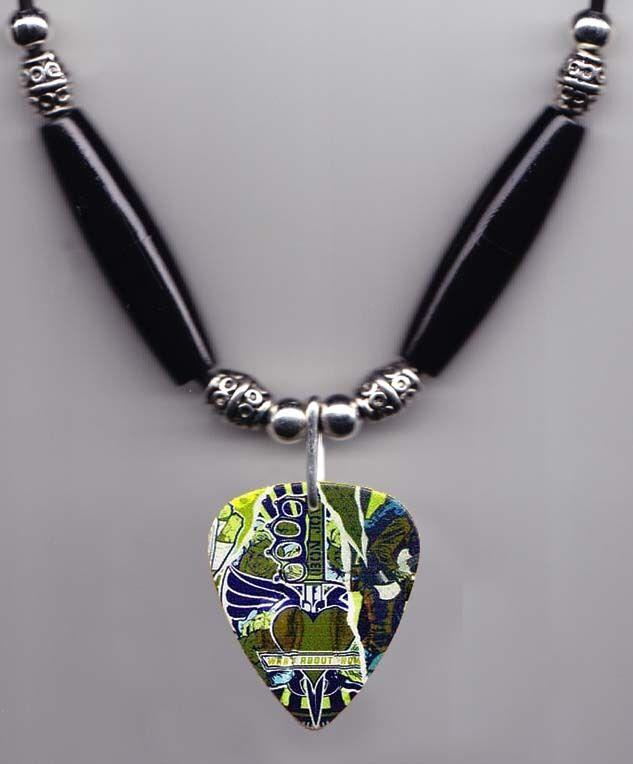 Bon Jovi What About Now Guitar Pick Necklace