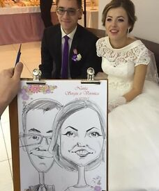 Wedding Caricaturist LONDON £70