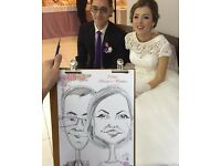 Wedding Caricaturist in LONDON £50