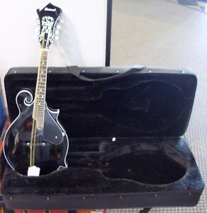 SAVANNAH MANDOLIN  Black  SF100   GUARDIAN Hardcase    F-Style/Model Finish Blem