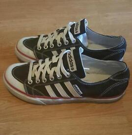 Two mens Adidas trainers size 9 (uk)