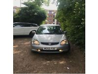 2003 Honda Civic Type S, Long MOT, Low Milage