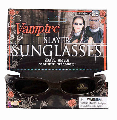 Vampire Slayer Sunglasses Gothic Blade Fancy Dress Halloween Costume - Halloween Costume Vampire Slayer