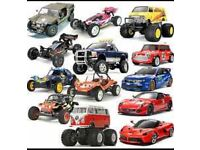 Looking for push bikes, Rc cars bikes Tamiya trucks boats etc, pitbikes mini motos quads etc £££