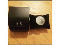 Armani Exchange all black watch BRAND NEW WITH BOX