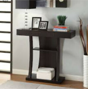 Brand new coaster console table