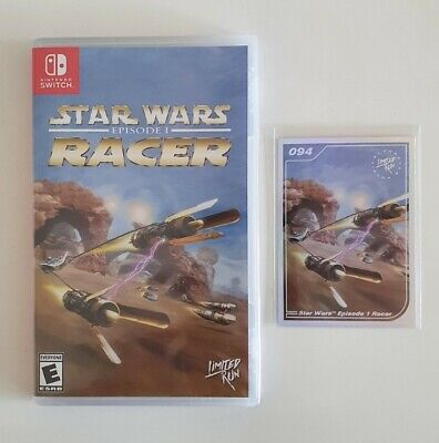 Star Wars Episode I: Racer - Nintendo Switch Limited Run Games LRG #077 NEU OVP