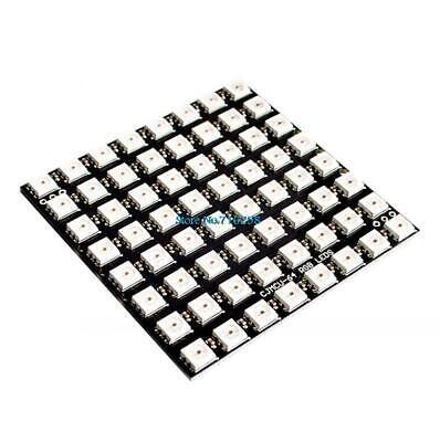 Ws2812 Led 8x8 Led Matrix 64-bit Full Color 5050 Rgb Led Lamp Panel Light