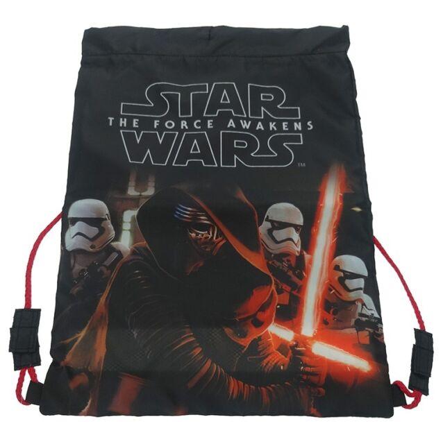 Star Wars The Force Awakens   Kylo Ren & Stormtrooper Trainer   Drawstring Bag