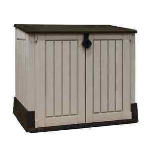 garden storage box keter woodland toys outdoor bin storage. Black Bedroom Furniture Sets. Home Design Ideas