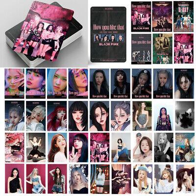 54pcs Set Kpop BLACKPINK How you like That Photocard K-POP Event Photo Card New