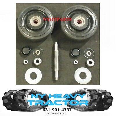 2238398 Rear Bogie Wheel Kit 10 W Shaft X2 Caterpillar 247 257 247b 257b Cat