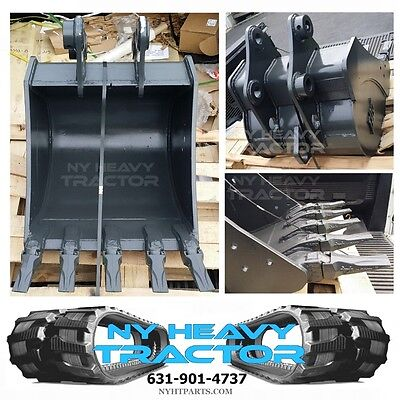New 24 Komatsu Pc50mr-2 Hd Mini Excavator Bucket W Esco Super V Teeth
