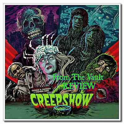 Cool Gift Creepshow 24x24inch 1982 Old Horror Classic Zombie Movie Silk Poster - Old Zombie Movies