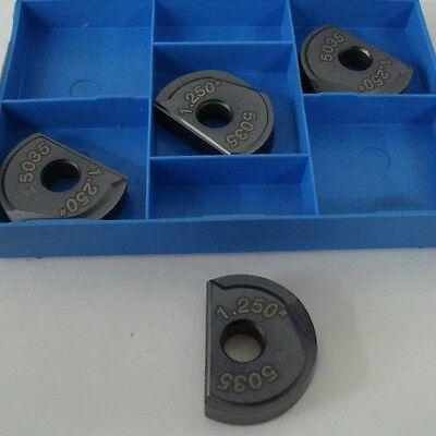 Valenite Carbide Milling Inserts Rga-125-a Vp5035 4 Pcs