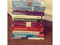 PSYCHOLOGY CRIMINOLOGY UNIVERSITY TEXTBOOKS