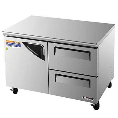 Turbo Air 48 Undercounter Cooler Refrigerator 2 Drawer Tur-48sd-d2