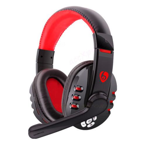 wireless gaming headset bluetooth headphone w mic