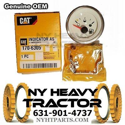One 170-6305 Genuine Oem Cat Fuel Level Gauge Caterpillar 420d 428d 430e 247b