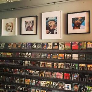 New and Used Quality Vinyl, CD's, Music DVD's, Books and more!