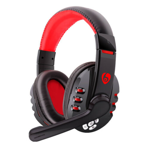 Wireless Gaming Headset Bluetooth Headphone Ear Cup Mic For Smart Phones Tablet Ebay