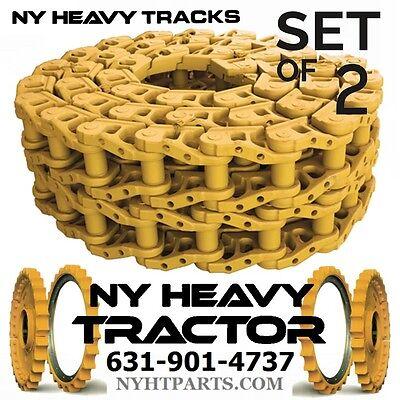 Two Id62736 36 Link Track Chain Fits John Deere 1010 Dozer