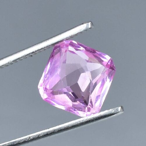 AAA+ 5.95 Ct Excellent Quality Natural Pink Morganite Loose gemstone Certified