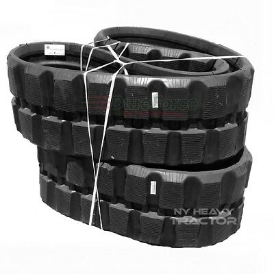 New Rubber Tracks Set Of Two For Bobcat T550 400x86x49 15.75