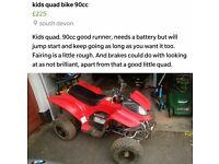 Kids Quad 90cc