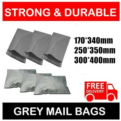 Mixed All Sizes Mailing Bags Strong Poly Postal Postage Post Mail Self Seal Bags