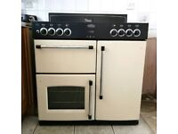 Oven, gas hobs, electric fan assisted double ovens