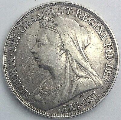 GREAT BRITAIN 1896  LX  CROWN  QUEEN VICTORIA OLD HEAD 2