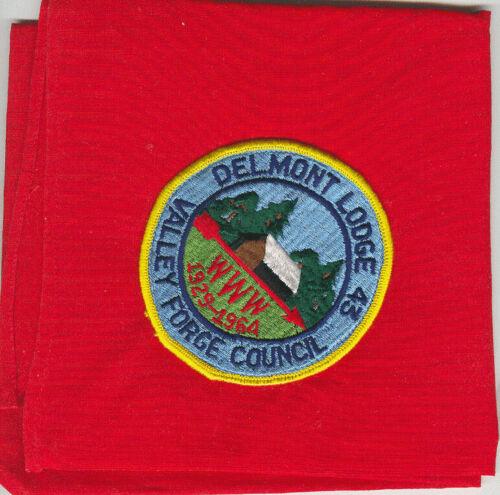 MINT 1964 Boy Scout OA Lodge 43 (Delmont) 35th Anniversary Neckerchief