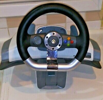 XBox 360 by Microsoft Wireless Force Feedback Steering Wheel Only, used for sale  Shipping to Canada