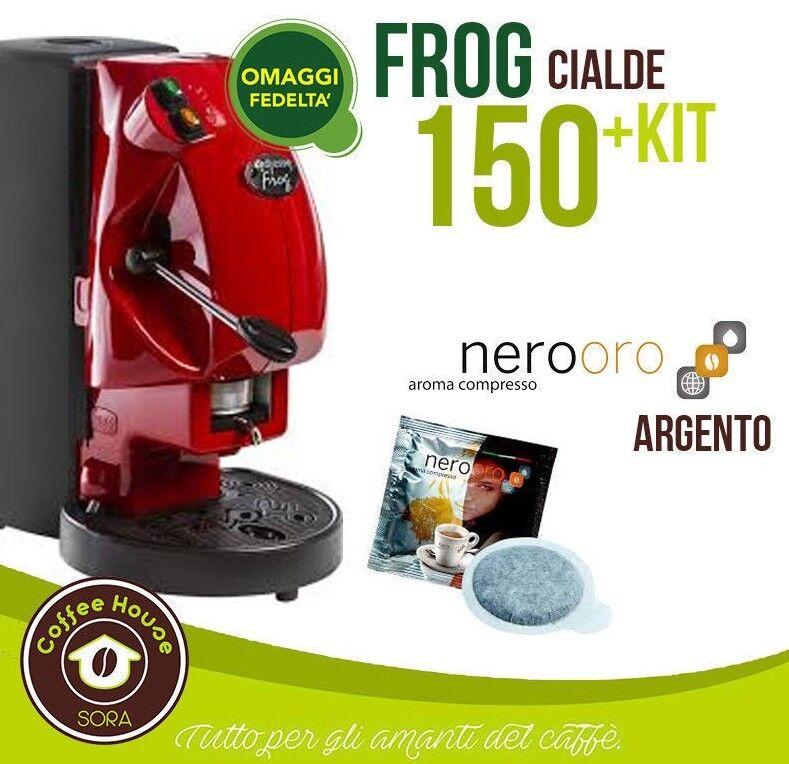 MACCHINA DA PER CAFFE FROG DIDIESSE REVOLUTION +150 CIALDE NEROORO + ACCESSORI