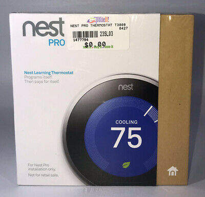 Nest Learning Thermostat, 3rd Gen, Smart Thermostat, Pro T3008US