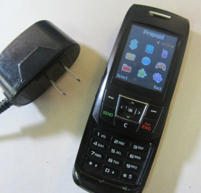 GOOD Samsung SGH-T301g Camera Bluetooth Dualband GSM Slider TRACFONE Cell Phone