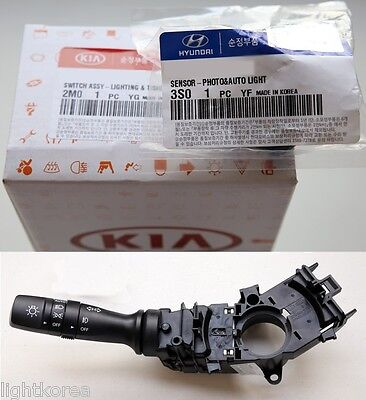 Photo & Auto Light Sensor + Switch lever For KIA SPORTAGE 2011 - 2015