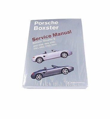 Repair Service Diagram Guide Book Manual for Porsche Boxster S Bently 1997-2004